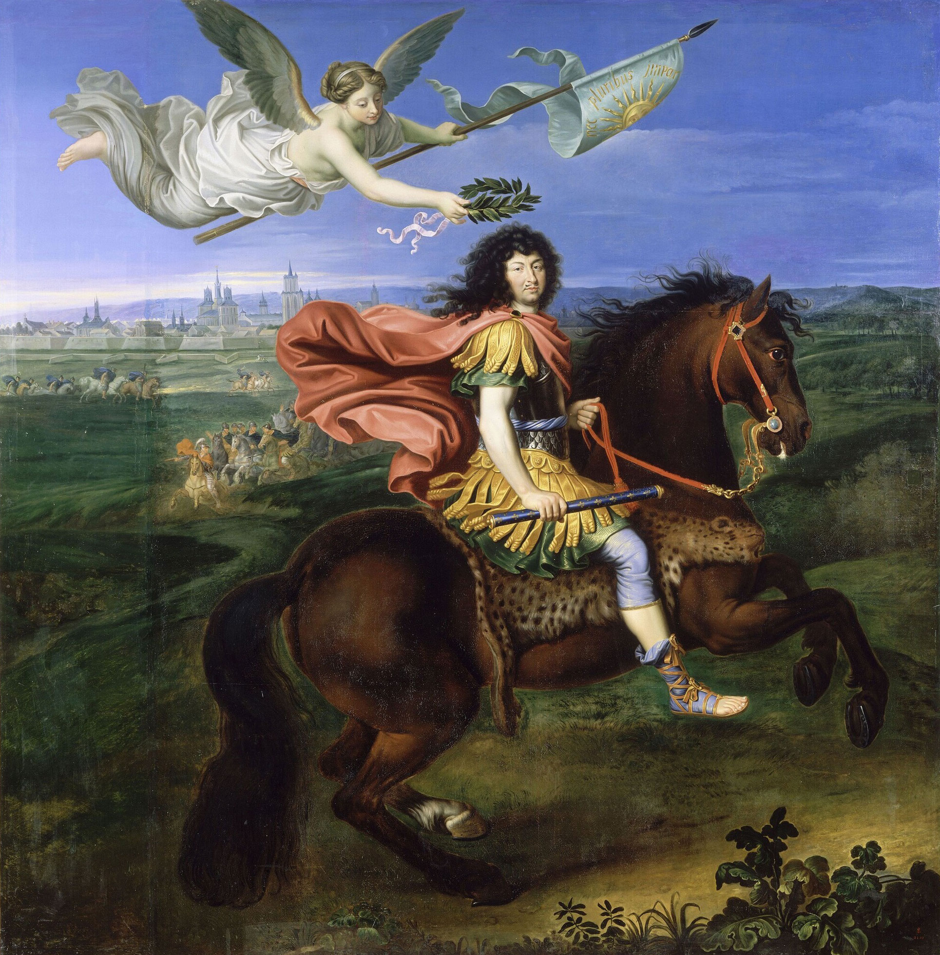 During the summer of 1658 it was announced in Paris that the young Louis  XIV had succumbed to a particularly virulent fever. Eyes then began to turn  to his ...